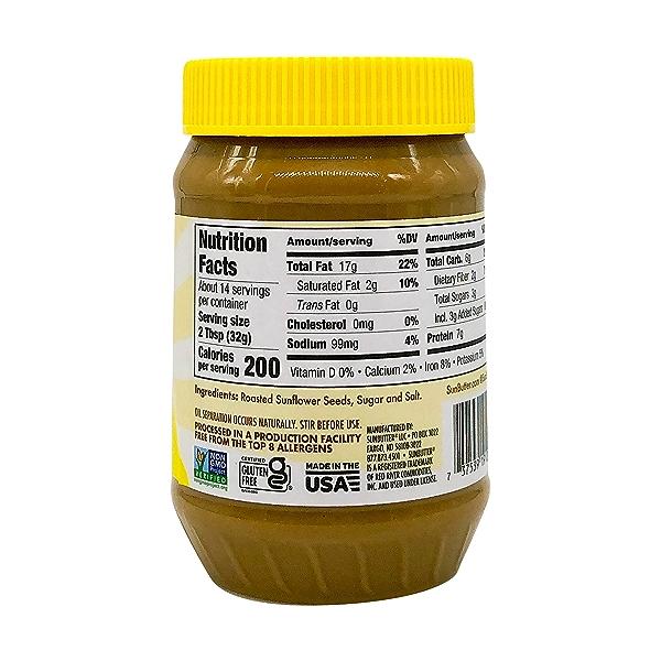 Natural Sunflower Butter, 16 oz 4