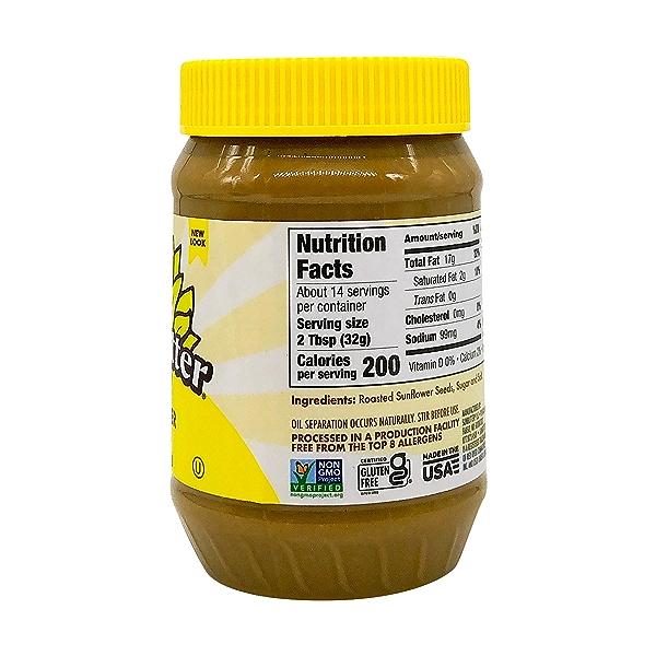 Natural Sunflower Butter, 16 oz 3