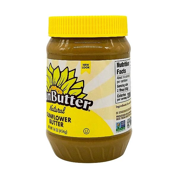 Natural Sunflower Butter, 16 oz 2