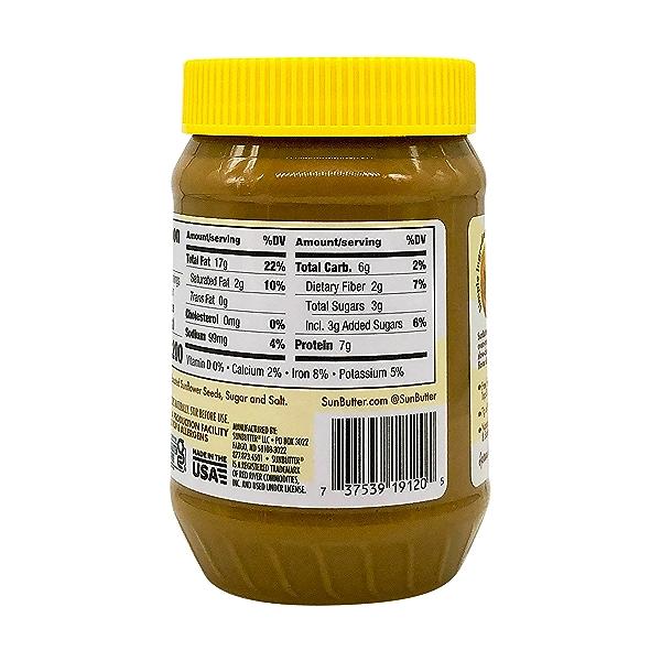 Natural Sunflower Butter, 16 oz 5