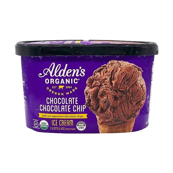 Organic Chocolate Chocolate Chip Ice Cream (1.5 Qt) 1