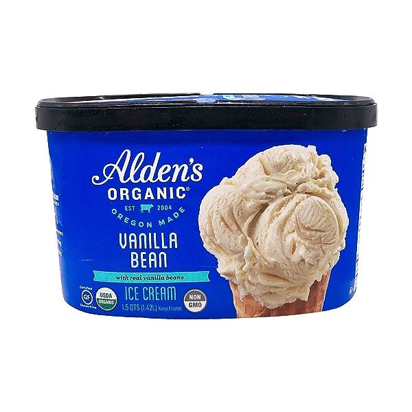 Organic Vanilla Bean Ice Cream, 1.5 qt 1