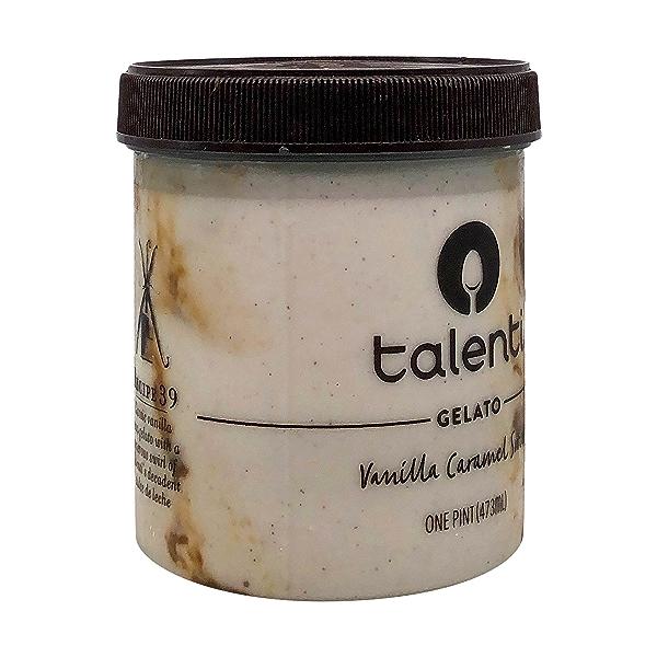 Vanilla Caramel Swirl Gelato, 1 pint 8