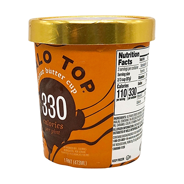 Peanut Butter Cup Ice Cream, 1 pint 2