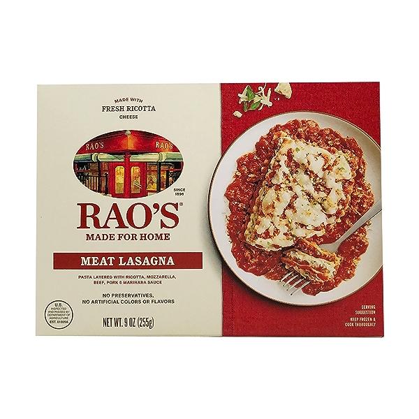 Single Serve Meat Lasagna, 9 oz 1