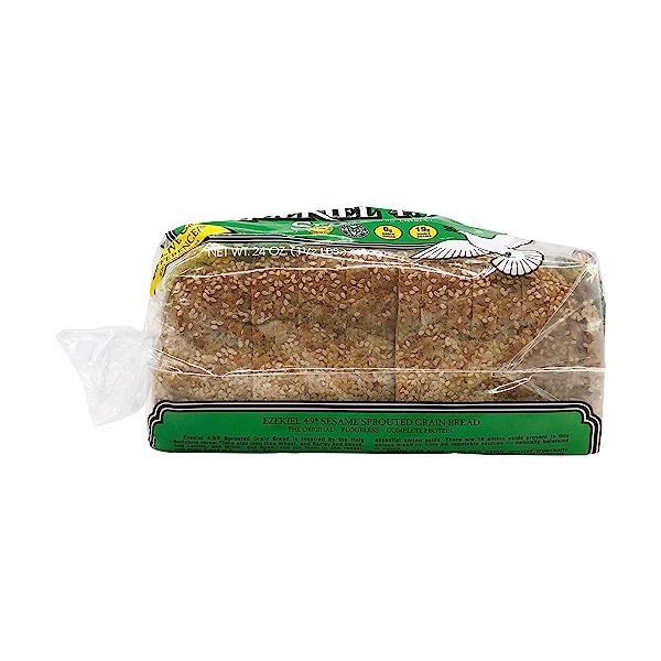 Ezekiel 4:9 Sesame Sprouted Grain Bread, 24 oz 6