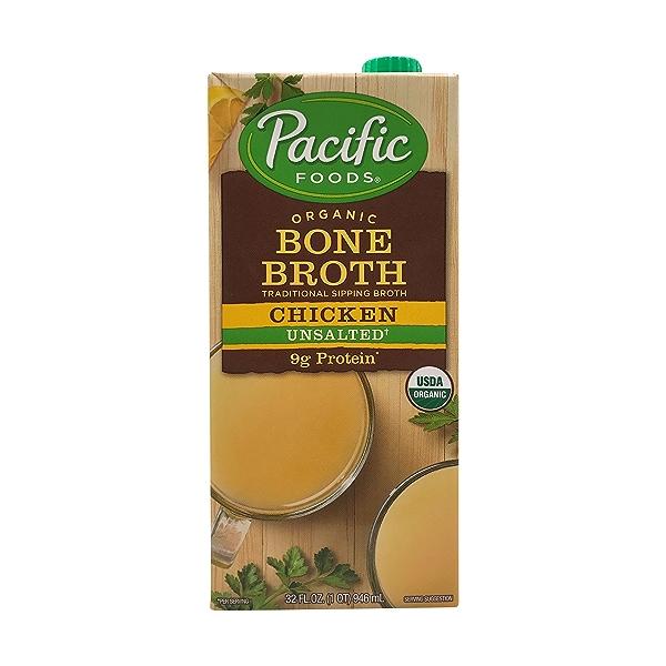 Pacific Natural Foods Organic Chicken Bone Broth, 32 fl oz 1