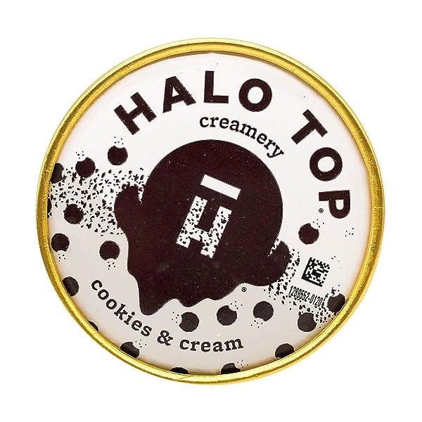 Cookies & Cream Halo Top, 1 pint 9