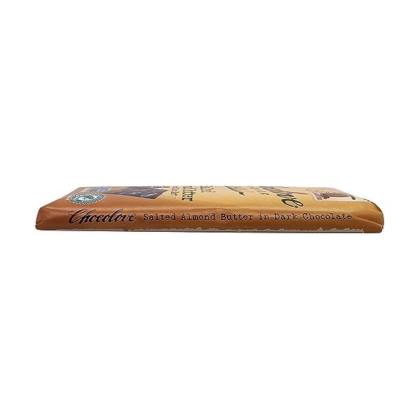 Salted Almond Butter in Dark Chocolate, 3.2 oz 4