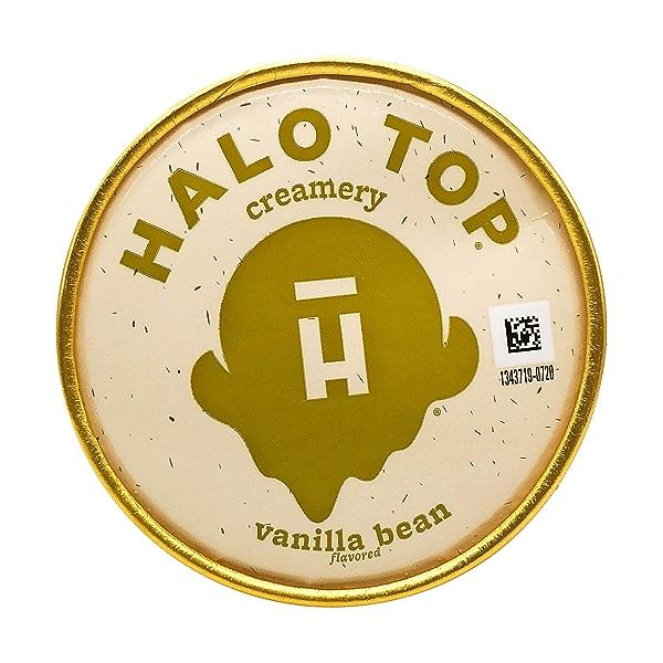 Halo Top Light Vanilla Bean Ice Cream, 1 pint 9