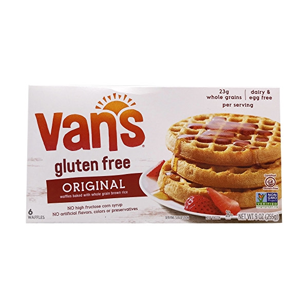 Totally Original Gluten Free Waffles, 9 oz 1