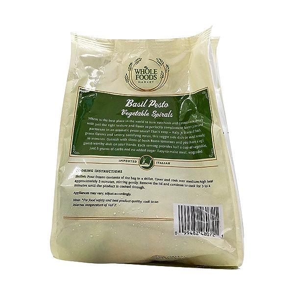 Basil Pesto Vegetable Spiral, 10 oz 3