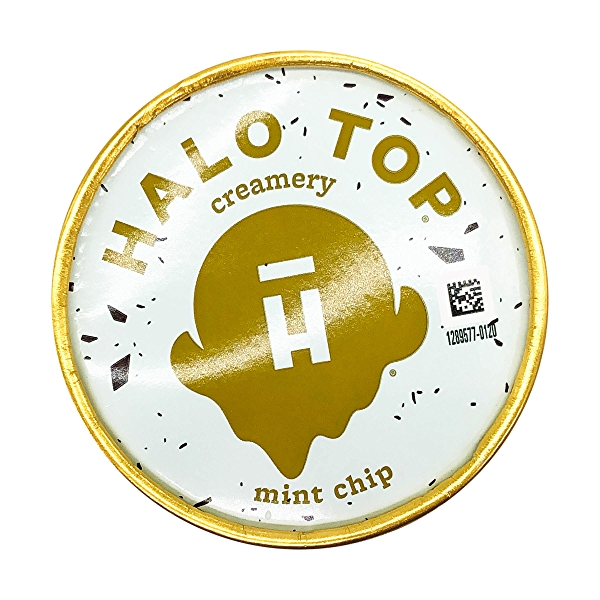 Halo Top Mint Chip Light Ice Cream, 1 pint 9