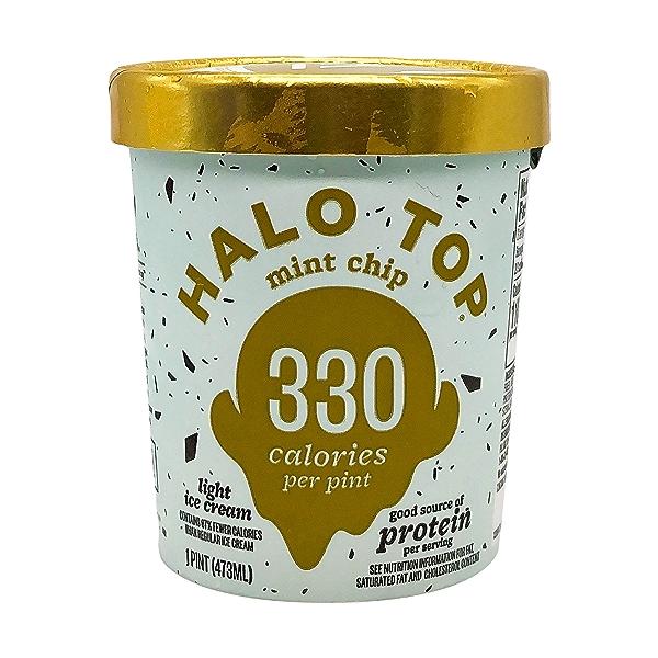 Halo Top Mint Chip Light Ice Cream, 1 pint 1