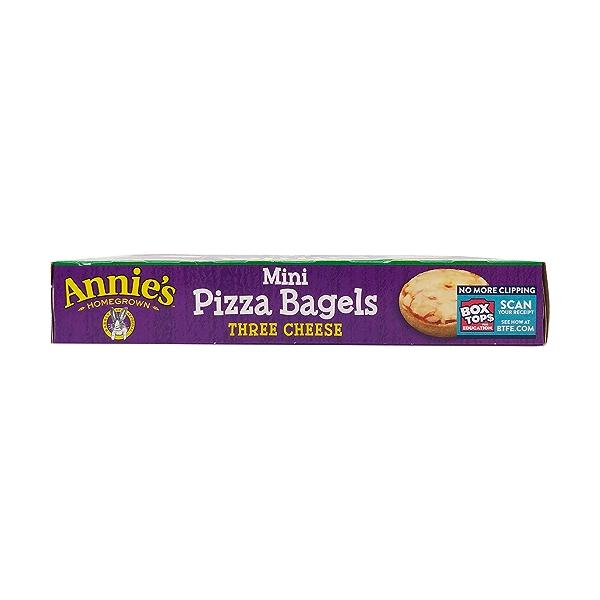 Mini Three Cheese Pizza Bagels, 6.65 oz 5