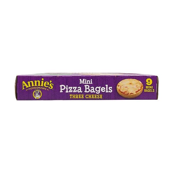 Mini Three Cheese Pizza Bagels, 6.65 oz 6