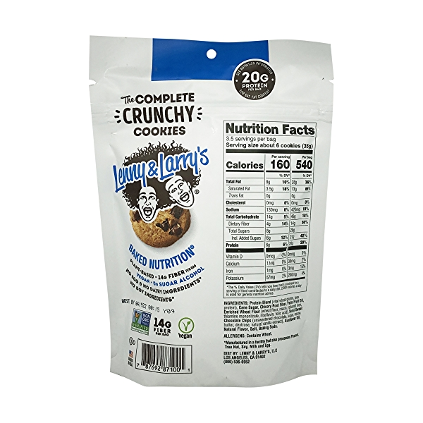 The Complete Crunchy Chocolate Chip Cookies, 4.25 oz 3