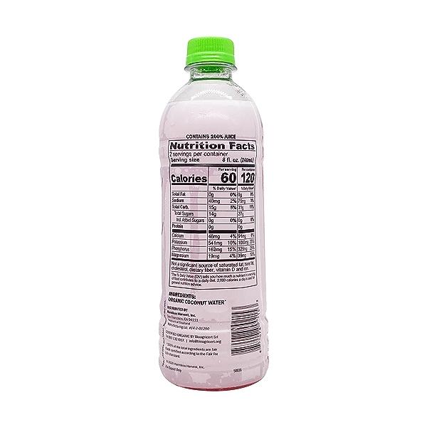 Organic Harmless Coconut Water, 16 fl oz 4