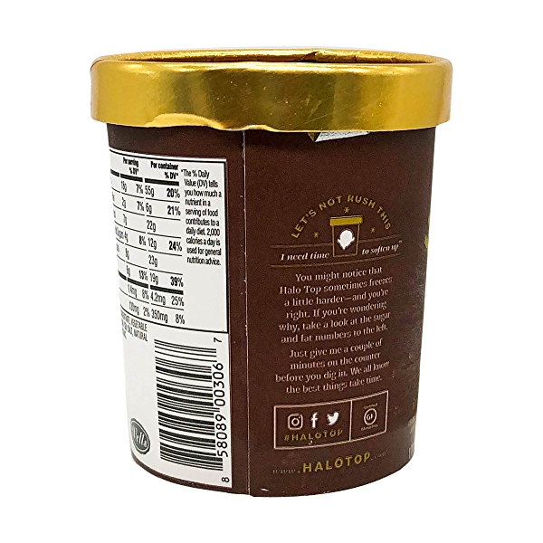 Light Chocolate Ice Cream, 1 pint 6