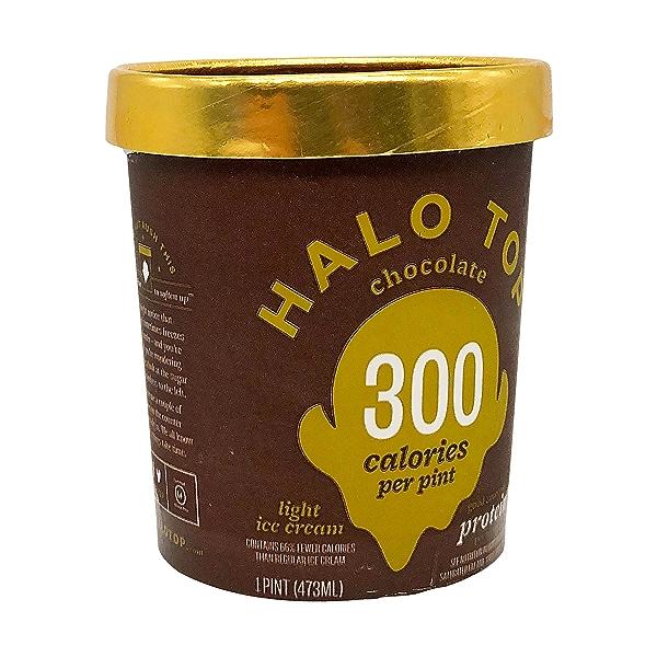 Light Chocolate Ice Cream, 1 pint 8