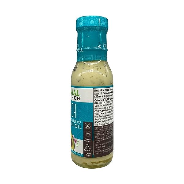 Dairy-Free Ranch Dressing with Avocado Oil, 8 fl oz 3
