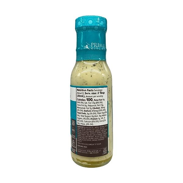 Dairy-Free Ranch Dressing with Avocado Oil, 8 fl oz 4