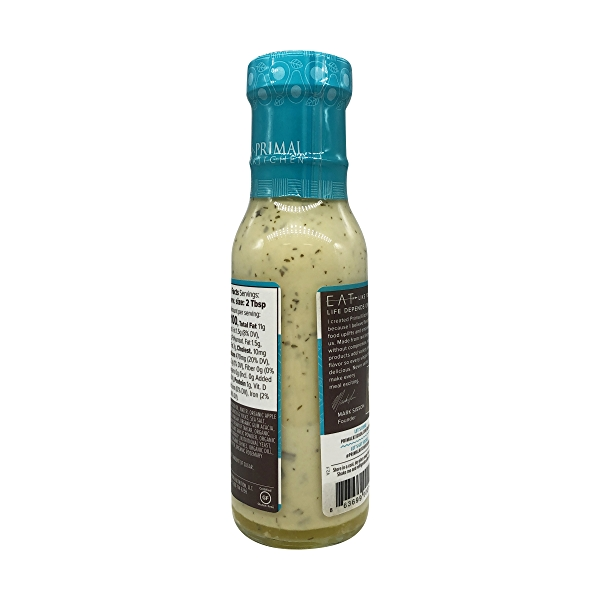 Dairy-Free Ranch Dressing with Avocado Oil, 8 fl oz 5