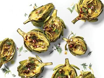 Pan-Seared Baby Artichokes