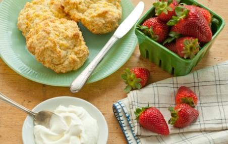 Traditional Strawberry Shortcake