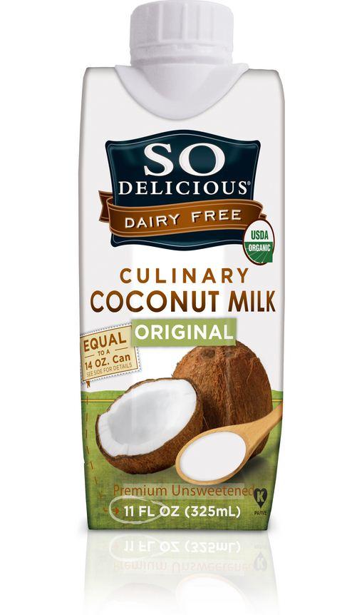 So Delicious Organic Dairy Free Culinary Coconut Milk