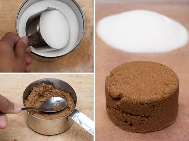 Measuring dry ingredients