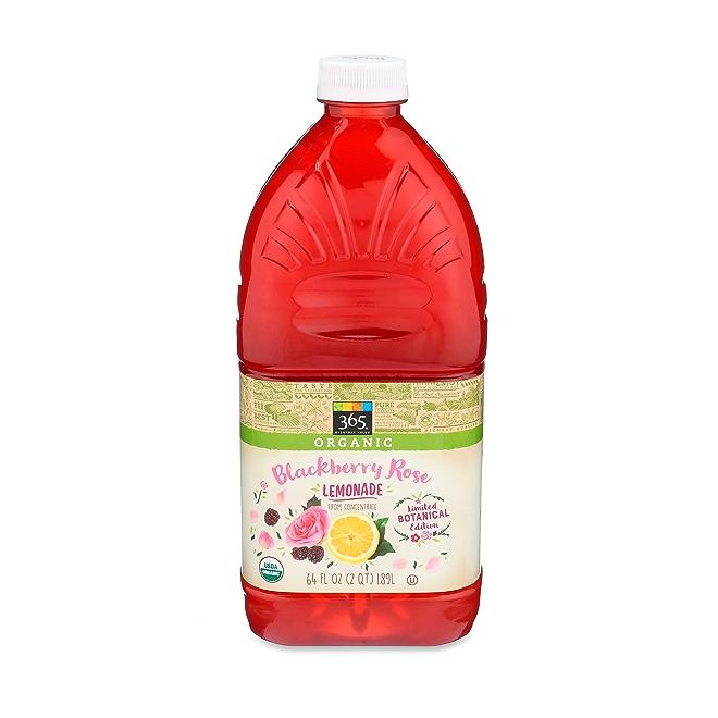 Organic Blackberry Rose Lemonade