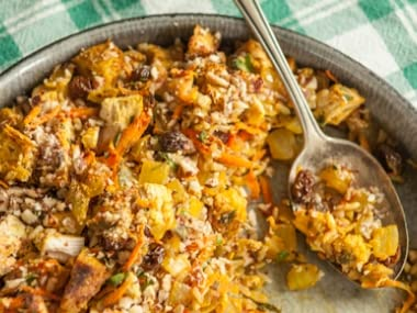 Curried Turkey and Rice Casserole