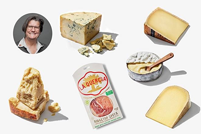 Cathy Strange and her favorite products from Whole Foods