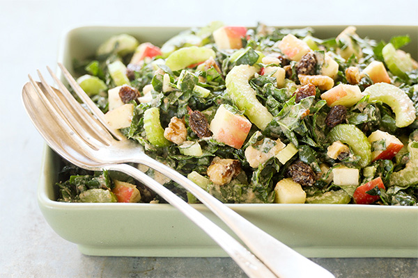 Picture of Kale Waldorf Salad