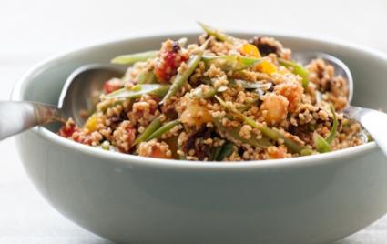 Heirloom Tomato and Bulgur Salad