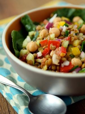 Lentil and Vegetable Salad