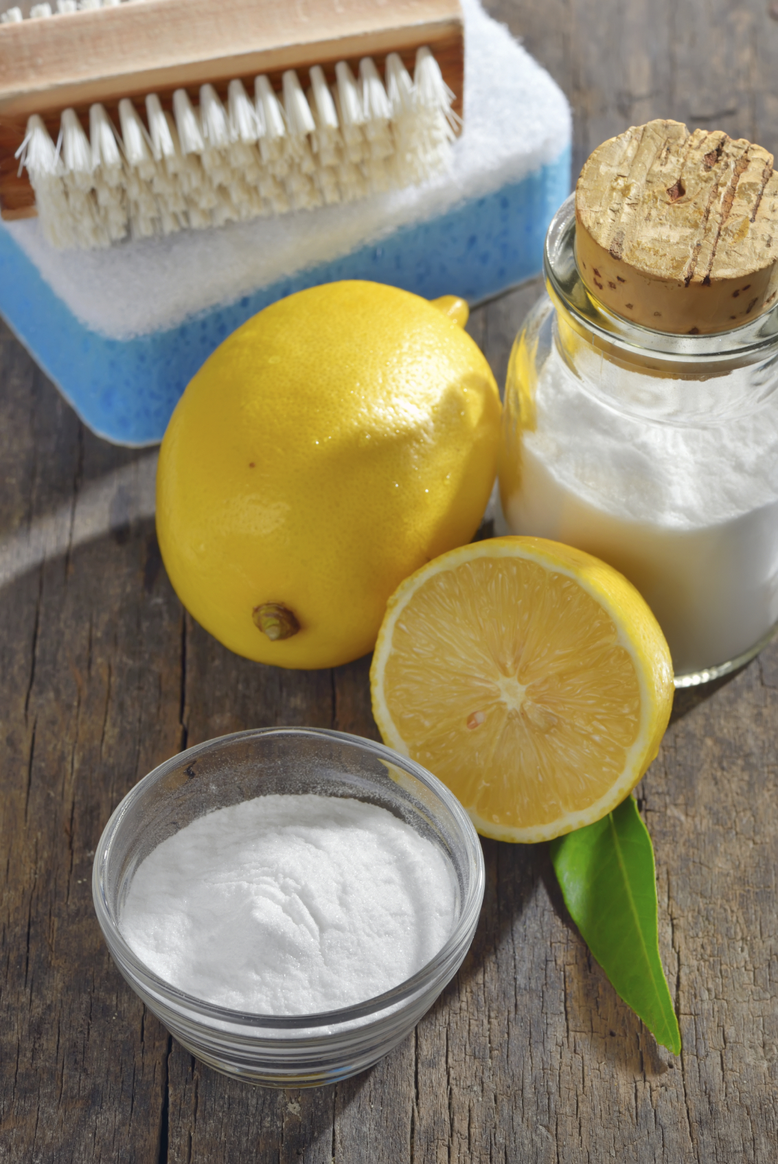 Household ingredients for making DIY cleaning products