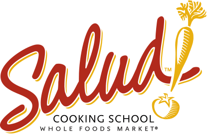 Salud cooking school logo from whole foods market