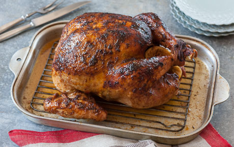 Turkey with Chile-Citrus Butter