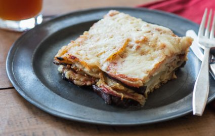 Vegetarian Slow Cooker Moussaka