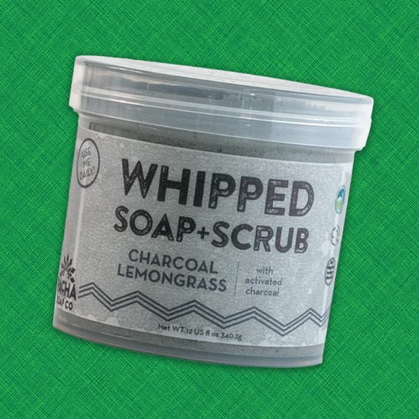 Pacha Whipped Soap + Scrub