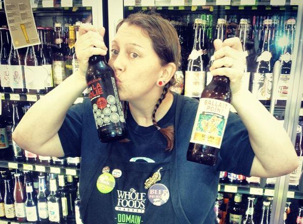 Teresa Mikulastik, Beer Specialist at the Domain Store in Austin, Tex.