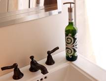 Upcycled Protea Bottle