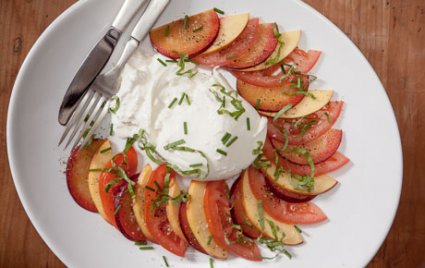 Stone Fruit and Tomato Salad