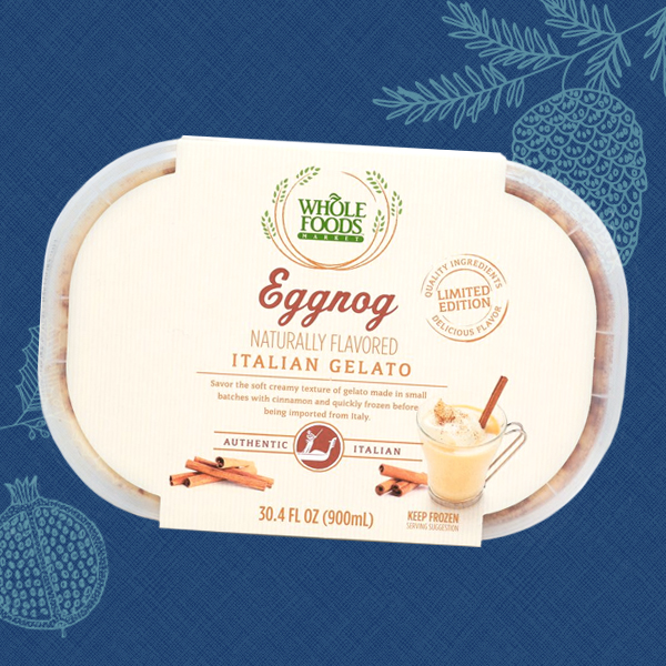 Whole Foods Market™ Eggnog Gelato