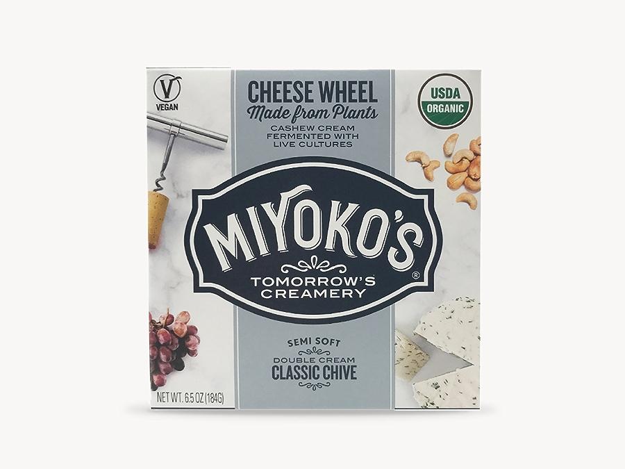 Miyoko's non-dairy cheese.