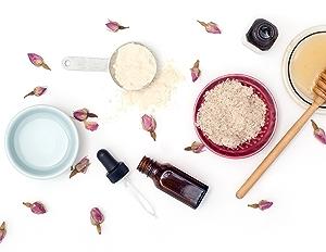 flower petals, honey, ingredients