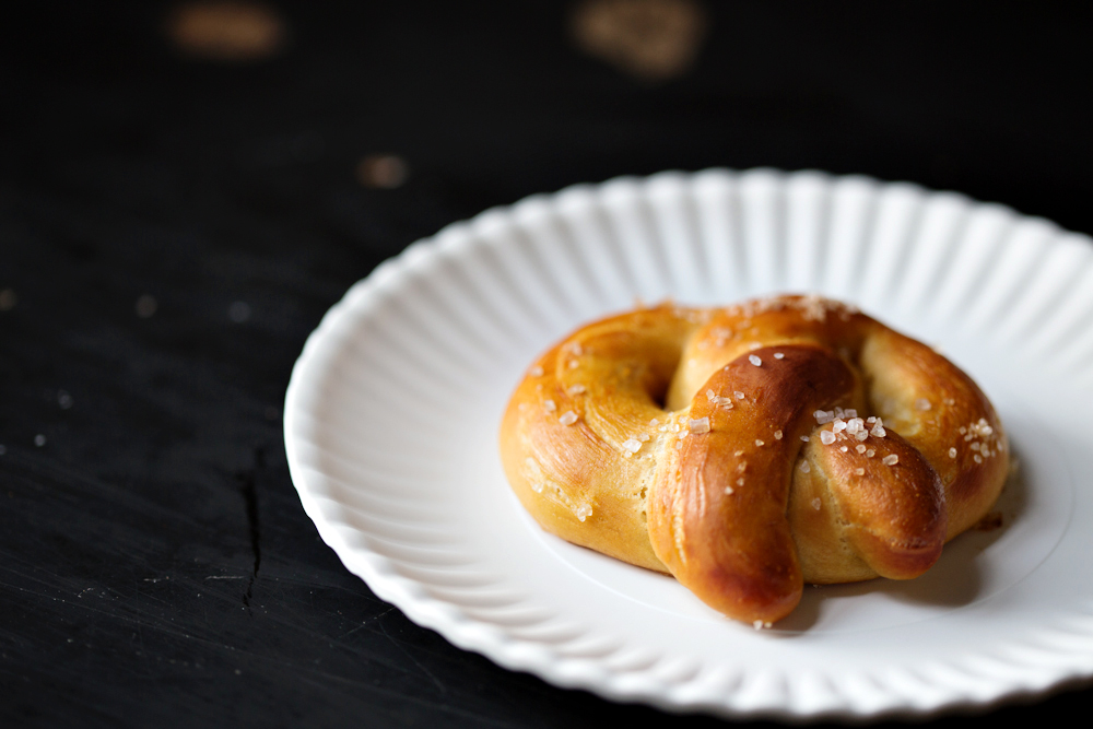Baker's Sign Soft Pretzels