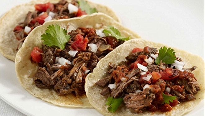 Barbacoa Beef Tacos